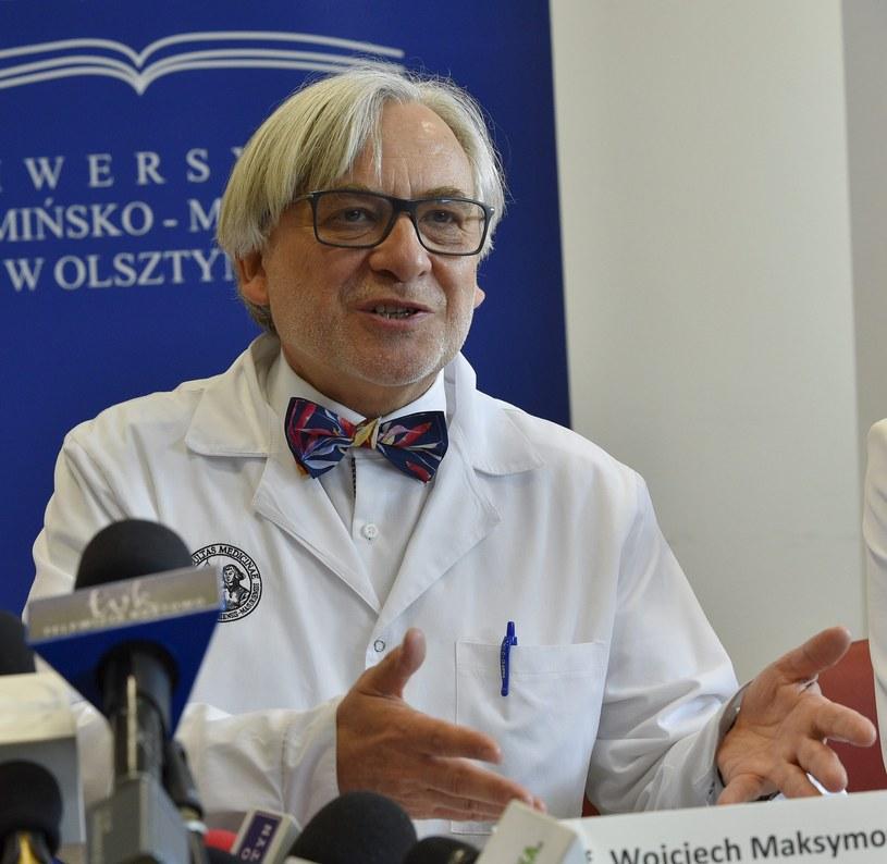 Prof. Wojciech Maksymowicz /PIOTR PLACZKOWSKI/REPORTER /Reporter