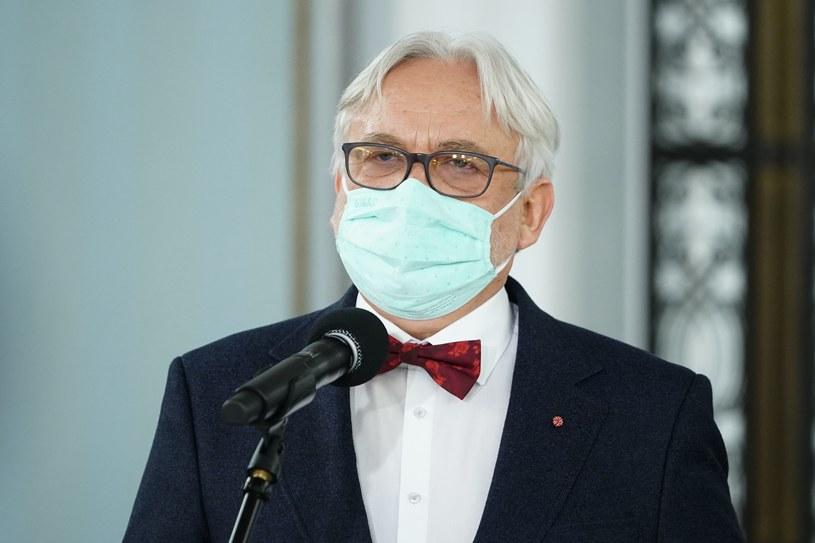 Prof. Wojciech Maksymowicz /Mateusz Wlodarczyk /Agencja FORUM