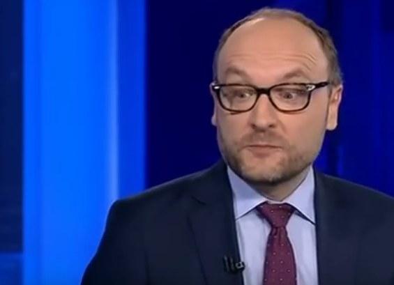 Prof. Zaradkiewicz podczas rozmowy w programie na antenie TVP Info /TVP Info