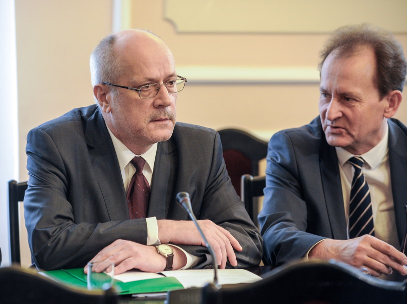 Prof. Zbigniew Jędrzejewski oraz poseł PiS Włodzimierz Bernacki /Marcin Obara /PAP
