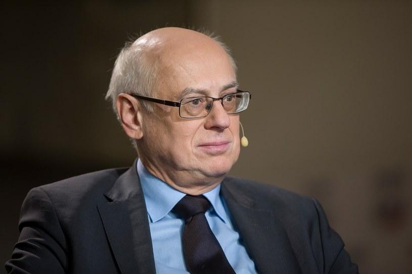Prof. Zdzisław Krasnodębski pozostaje jedynym kandydatem Grupy EKR na wiceszefa PE /Michał Woźniak /East News