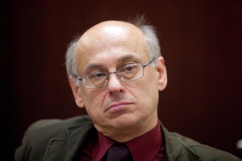 Prof. Zdzisław Krasnodębski /Robert Gardziński  /Agencja FORUM