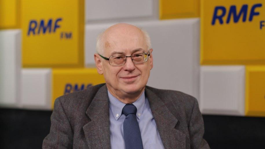 Prof. Zdzisław Krasnodębski /Karolina Bereza /Archiwum RMF FM
