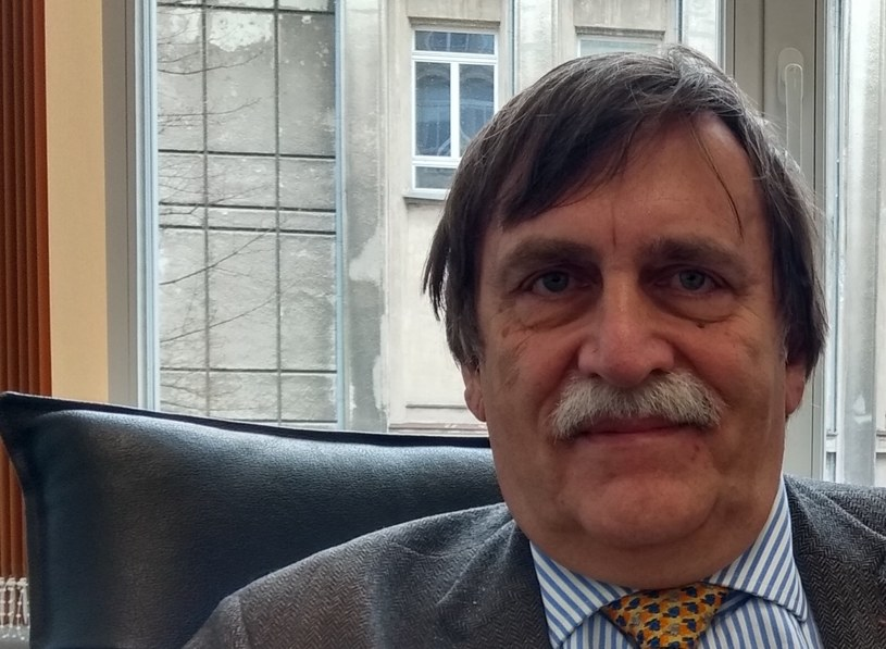 Prof. Zdzisław Mach /Remigiusz Półtorak /INTERIA.PL
