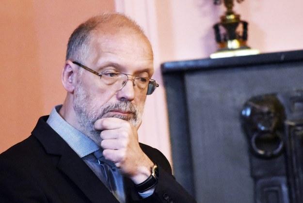 Profesor Andrzej Nowak /M.Lasyk /Reporter
