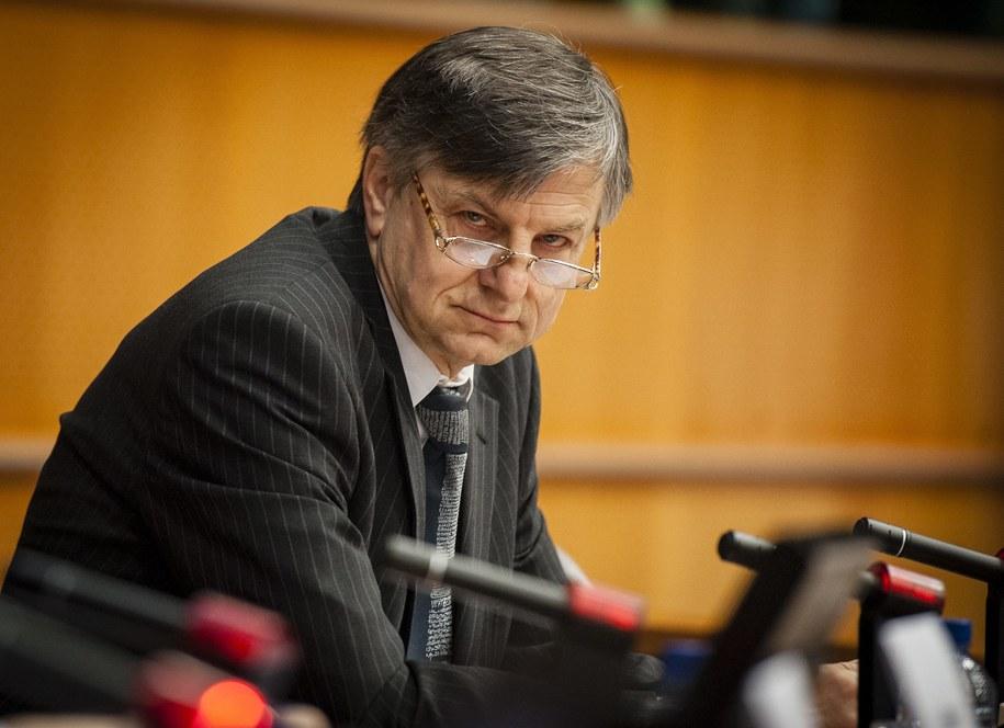 Profesor Andrzej Zybertowicz /Wiktor Dabkowski    /PAP