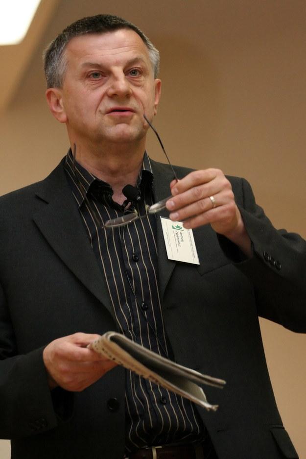 Profesor Andrzej Zybertowicz /Lech Muszyński /PAP