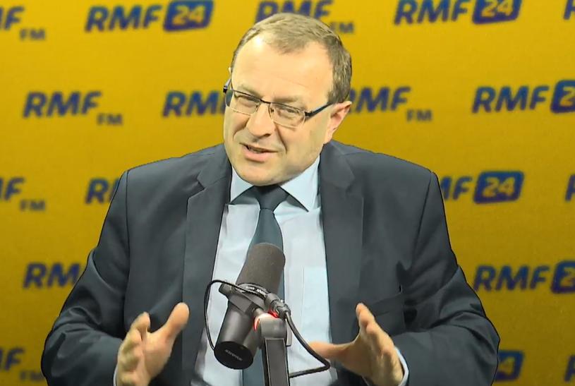 Profesor Antoni Dudek w RMF FM /RMF