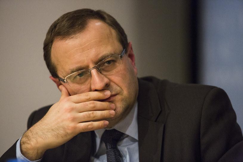 Profesor Antoni Dudek /Andrzej Hulimka  /Reporter
