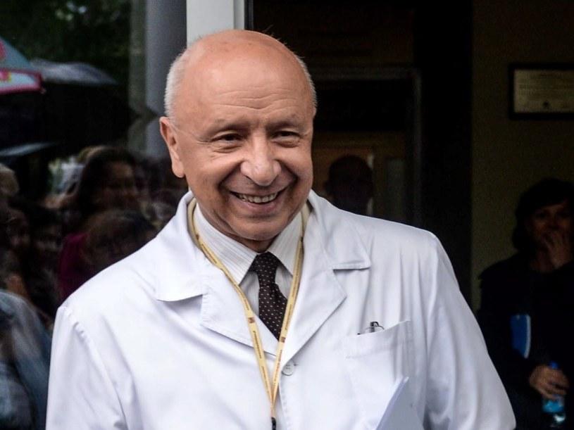 Profesor Bogdan Chazan (zdj. archiwalne) /Jakub Kamiński   /PAP