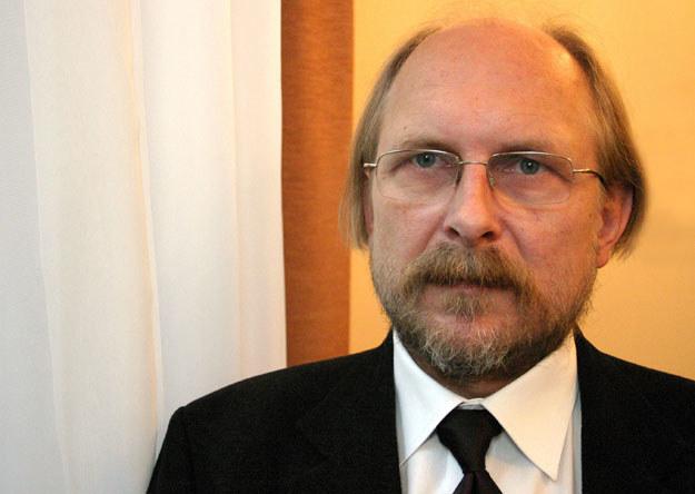 Profesor Bogdan Szlachta z Uniwersytetu Jagiellońskiego /Grzegorz Kozakiewicz /Agencja FORUM