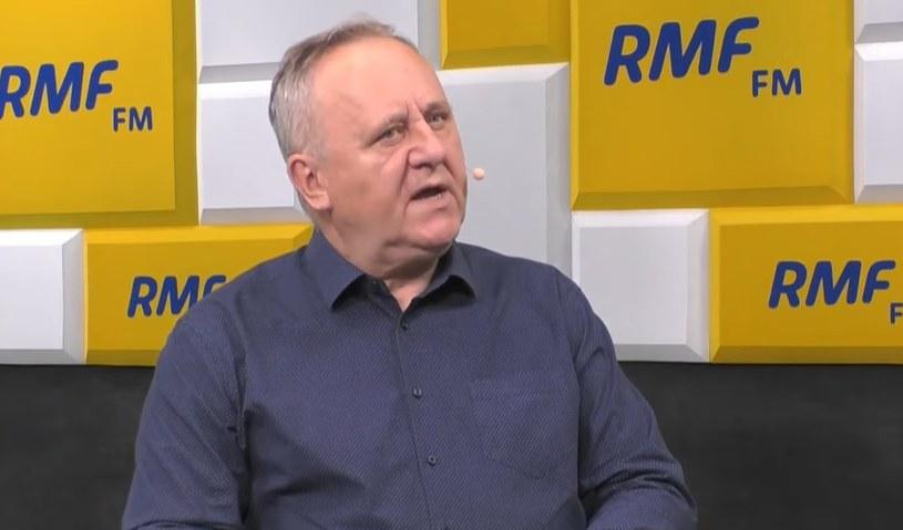 Profesor Bogusław Pacek /RMF