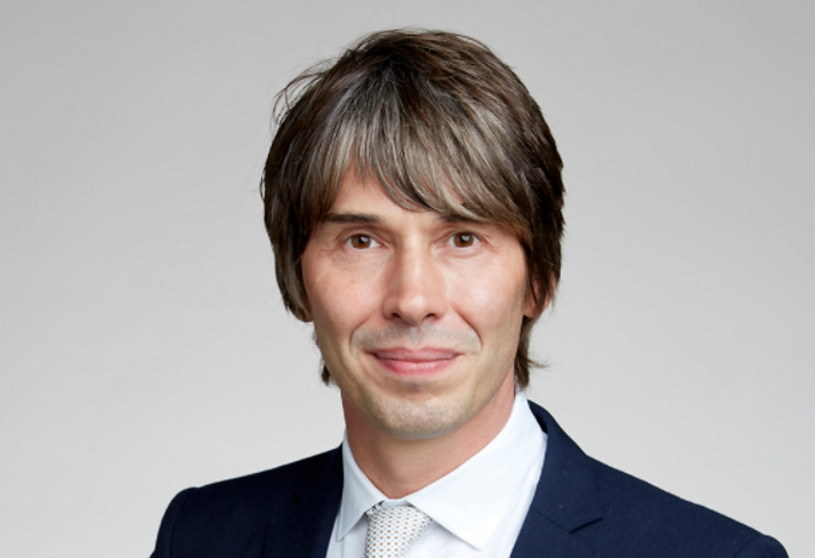 Profesor Brian Cox. Fot. The Royal Society /materiały prasowe