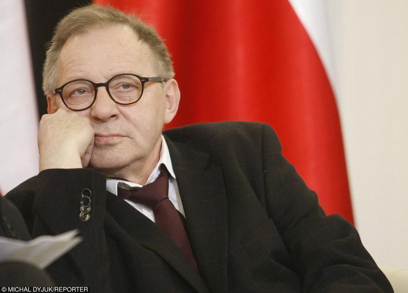 Profesor doktor habilitowany Lech Morawski /Michał Dyjuk /Reporter