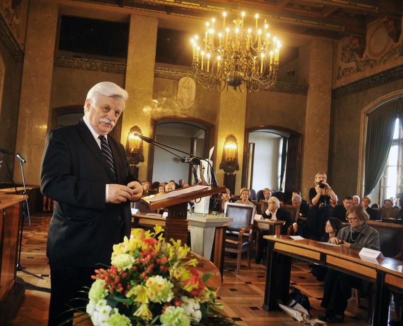 Profesor Franciszek Ziejka /Fot. Marek Lasyk/REPORTER /Reporter