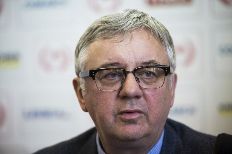 Profesor Janusz Filipiak, prezes MKS Cracovia SSA /Andrzej Banaś, Polska Press /East News