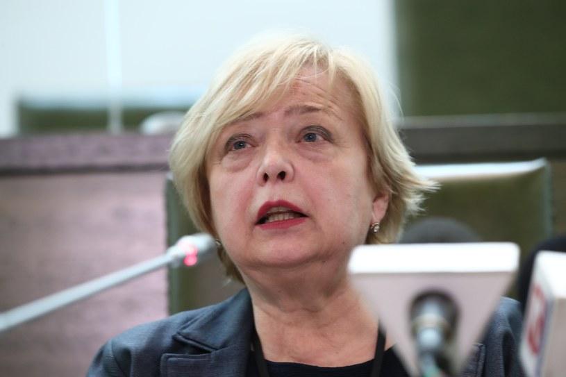 Profesor Małgorzata Gersdorf /Andrzej Iwańczuk /Reporter