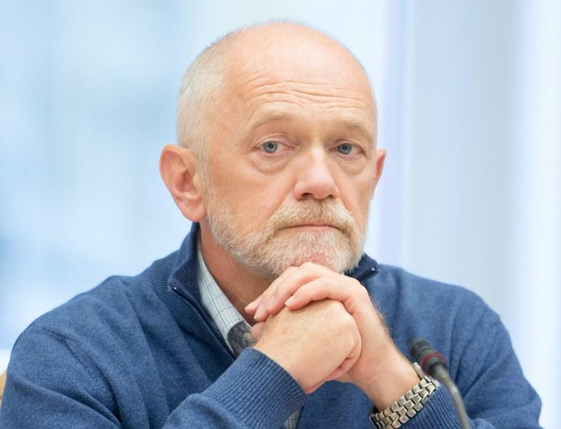 Profesor Marek Góra, współtwórca reformy emerytalnej z 1999 r /Andrzej Iwańczuk /Reporter