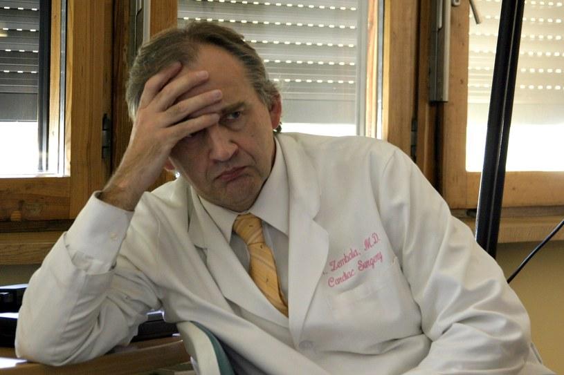 Profesor Marian Zembala zalecił wyjazd na operację do Stanów Zjednoczonych /Fotorzepa /Agencja FORUM