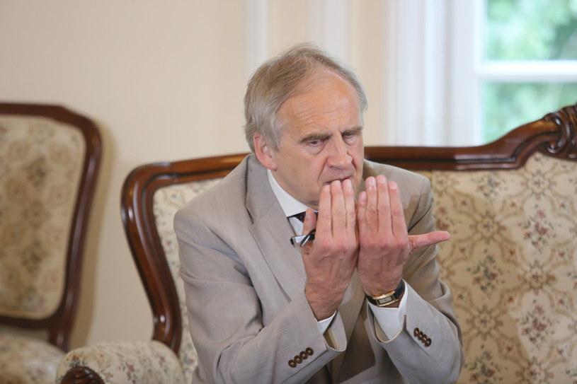 Profesor Marian Zembala /Leszek Szymański /PAP