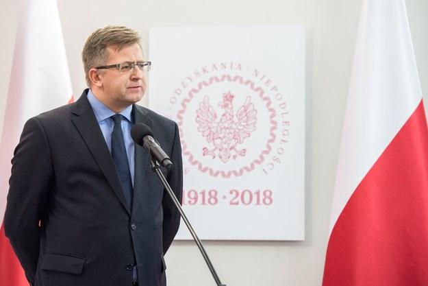 Profesor Mariusz Wołos: Dobry polityk dba w pierwszym rzędzie o interesy swojego państwa /Łukasz Piecyk /Reporter