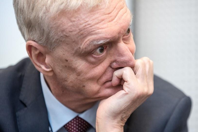 Profesor Michał Kleiber: polscy naukowcy mają bardzo solidną renomę w Europie i na świecie /Łukasz Piecyk /Reporter