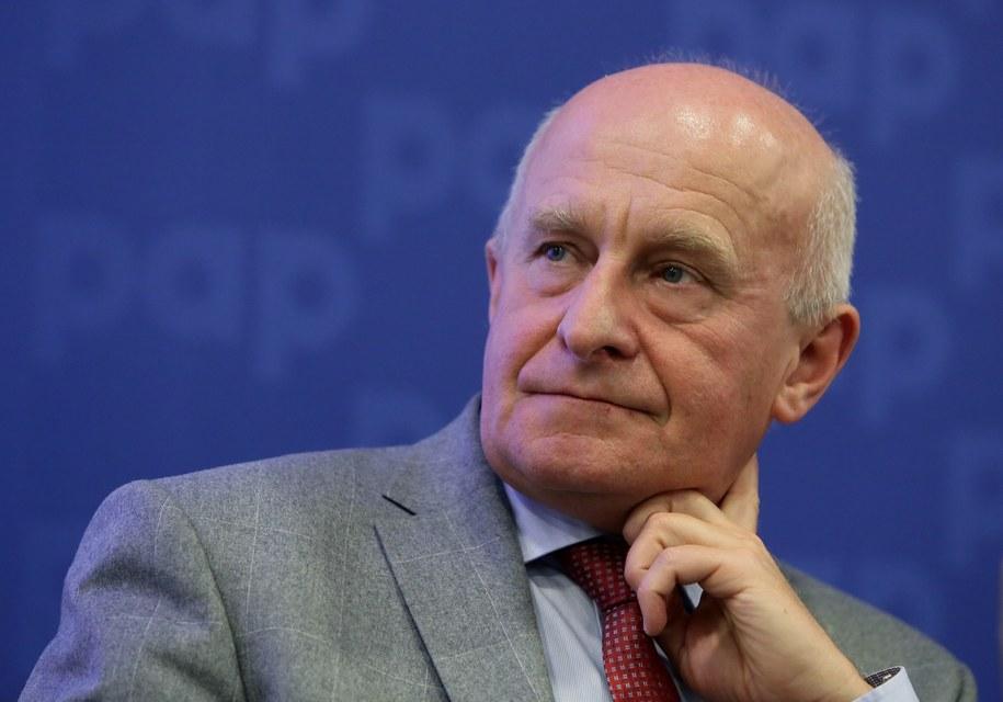 Profesor Piotr Hoffman, prezes Polskiego Towarzystwa Kardiologicznego //Tomasz Gzell /PAP
