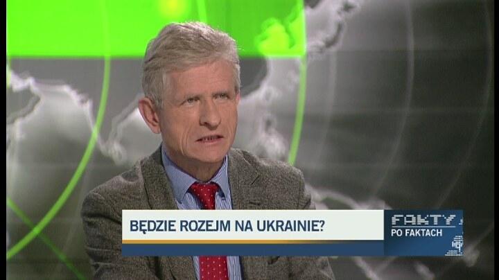 Profesor Roman Kuźniar /TVN24/x-news