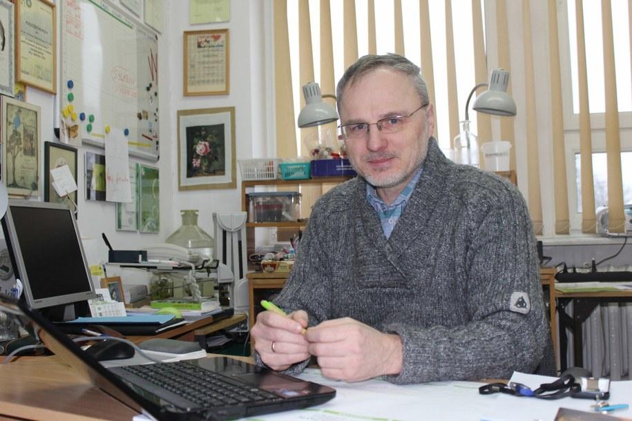 Profesor Stanisław Czachorowski /Piotr Bułakowski /RMF FM