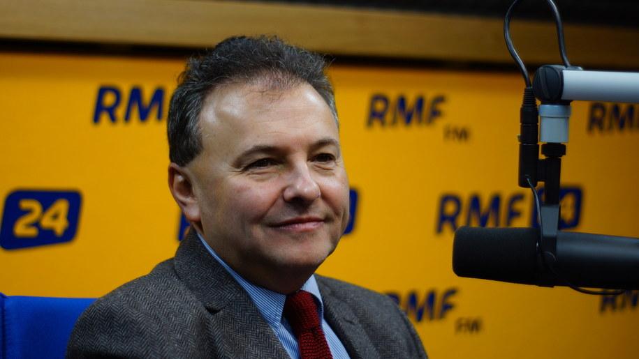 Profesor Witold Orłowski /Michał Dukaczewski /RMF FM