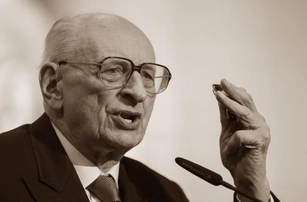 Profesor Władysław Bartoszewski (1922-2015) /PAP