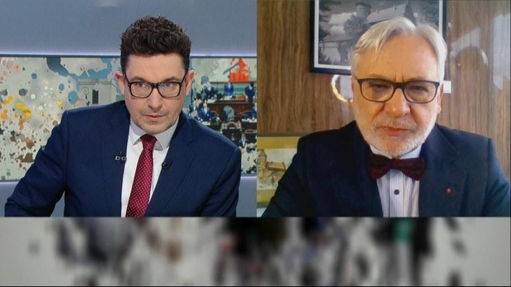 """Profesor Wojciech Maksymowicz był gościem """"Graffiti"""" /Polsat News"""