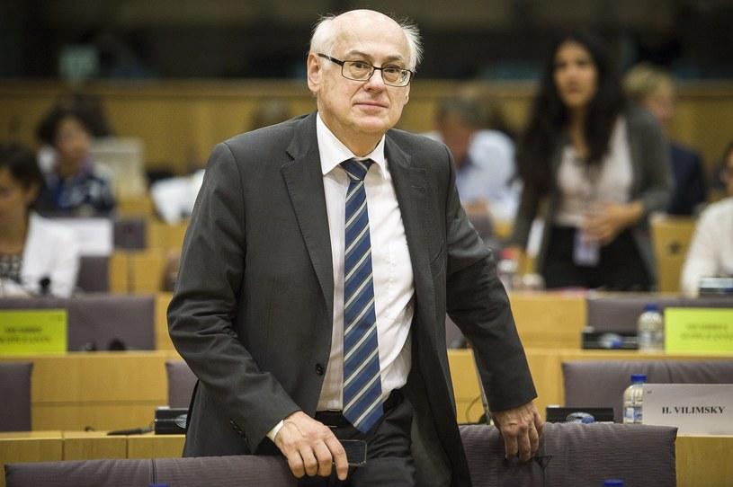 Profesor Zdzisław Krasnodębski /Wiktor Dabkowski/AFP /East News