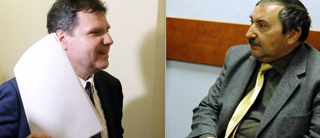 Profesorowie Bogusław Banaszak (z lewej) i Mariusz Muszyński /Paweł Supernak, Grzegorz Jakubowski /PAP