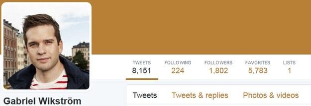 Profil ministra zdrowia na Twitterze /