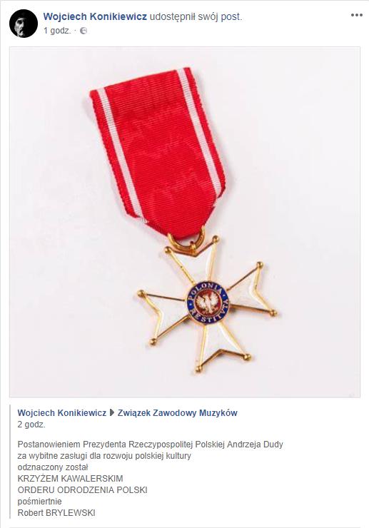 Profil Wojciecha Konikiewicza na Facebooku /