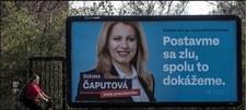 Prognoza wyborcza: Czaputova zwycięża w II turze wyborów prezydenckich na Słowacji