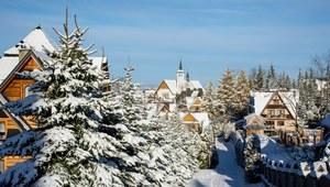 Prognozy: Popada śnieg i deszcz, ale temperatura wzrośnie do 9 st. C