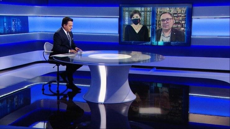 """Program """"Gość Wydarzeń"""" /Polsat News"""