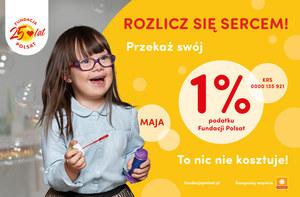 Chcę pomóc 1 % - Strona Fundacji POLSAT - Jesteśmy dla dzieci