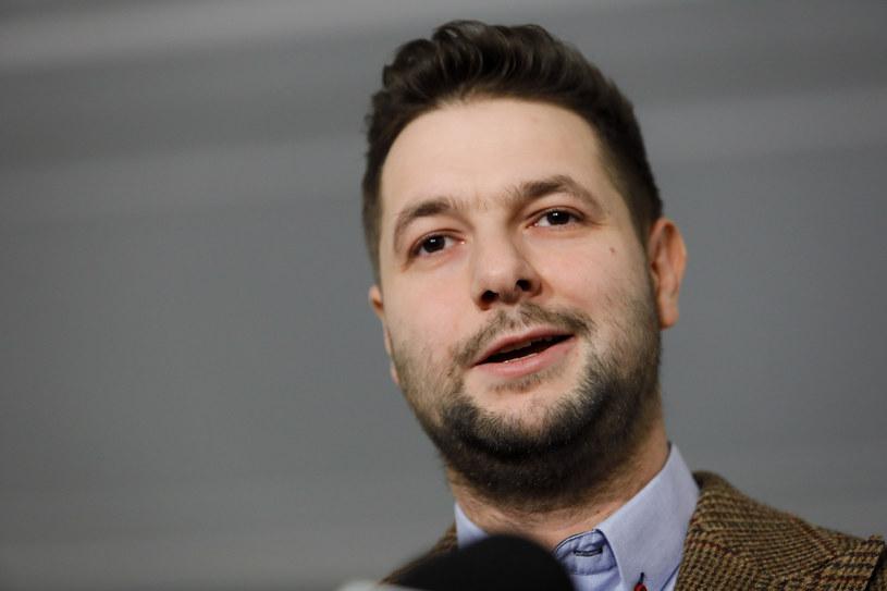 """Program """"Praca dla więźniów"""" pilotował Patryk Jak /Grzegorz Banaszak /Reporter"""
