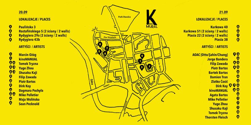Program projektu Kinomural 2019 /materiały prasowe