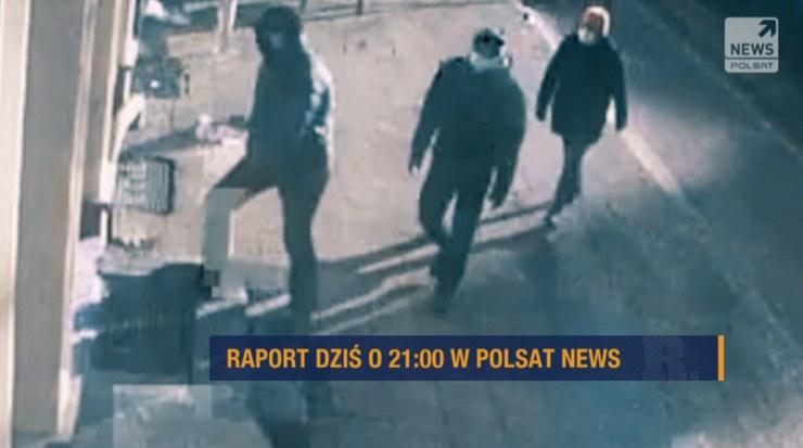 """Program """"Raport"""" o nowej fali napadów w kraju /Polsat News"""