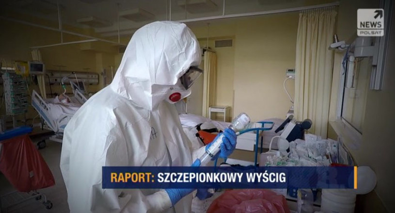"""Program """"Raport"""" od poniedziałku do piątku o 20.50 w Polsat News /Polsat News"""