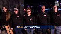 """Program """"Raport"""" w Polsat News: (Nie)zamaskowani. Reportaż o koronasceptykach"""