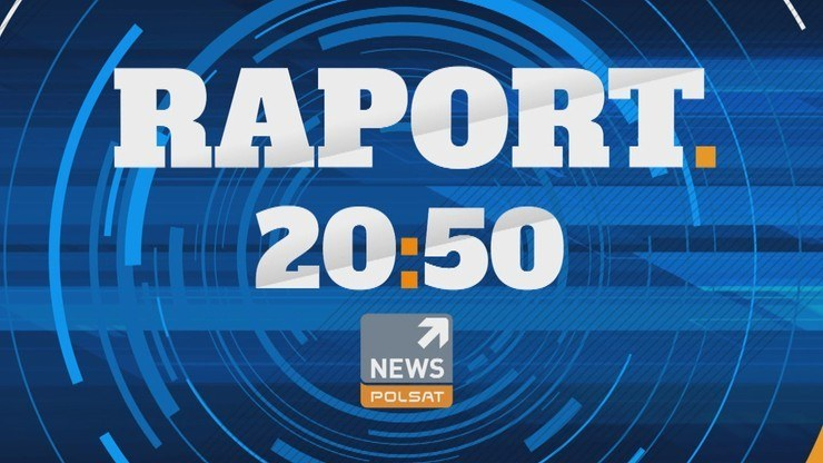 """Program """"Raport"""" w Polsat News od poniedziałku do piątku o 20:50 /Polsat"""