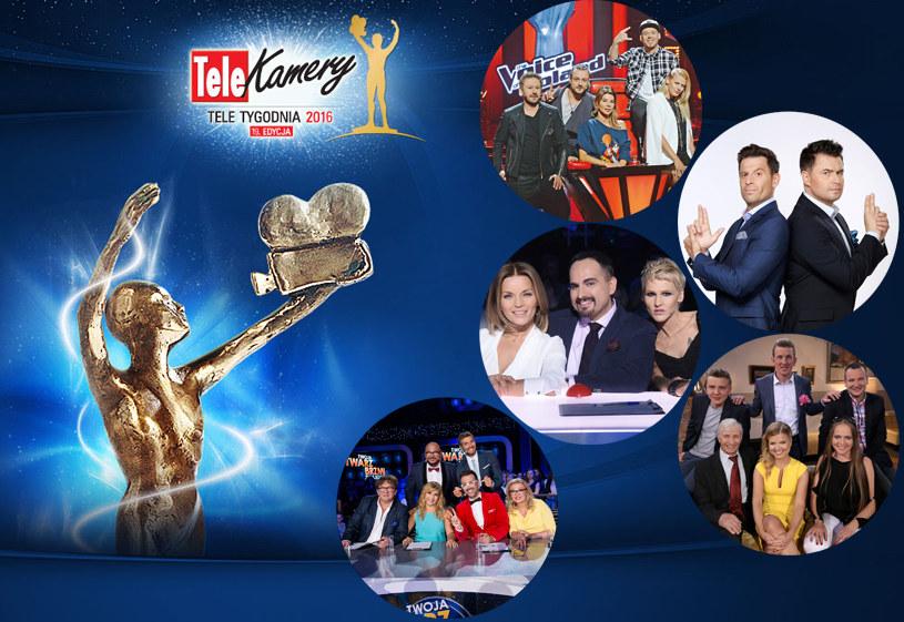 Programy rozrywkowe nominowane do Telekamer /materiały prasowe