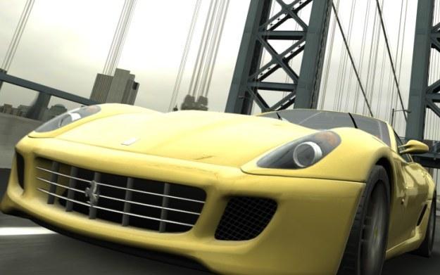 Project Gotham Racing - motyw graficzny /materiały prasowe