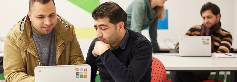 Project Reconnect ma pomóc w integracji uchodźców przy pomocy Chromebooków /materiały prasowe