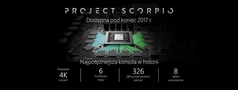 Project Scorpio /materiały źródłowe
